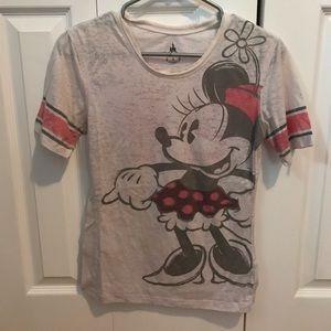 Disney Slightly-Sheer Minnie Mouse T-Shirt